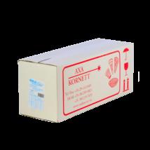 Gluténmentes vizes kis fagylalttölcsér (Axa) 100 db/#
