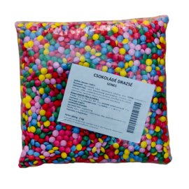 Színes csokoládé cukordrazsé 1kg