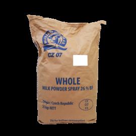 Zsíros tejpor CZ07 (Cseh) 25 kg/zs