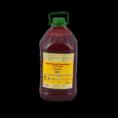 m-GEL Eper gyümölcsvelő készítmény 6 kg/lf