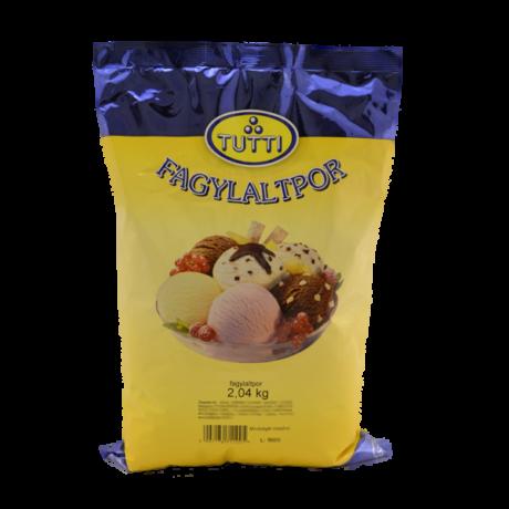TUTTI Mogyoró fagylaltpor 2,04 kg/cs